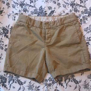 J. Crew Chino Boyfriend Shorts